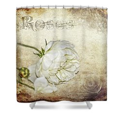 Shower Curtain featuring the photograph Roses by Carolyn Marshall