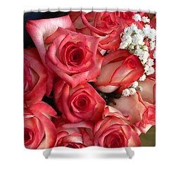 Roses For God Shower Curtain