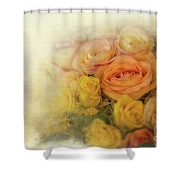Roses For Mother's Day Shower Curtain by Eva Lechner