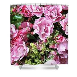 Roses From The Garden Shower Curtain