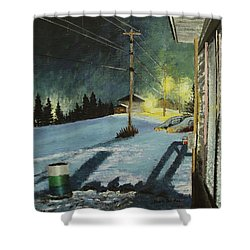Roses Lane Shower Curtain