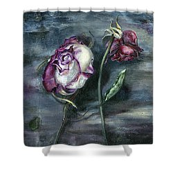 Roses Never Die Shower Curtain
