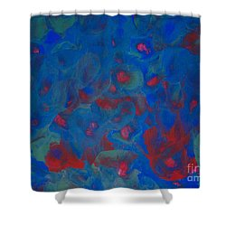 Roses Of The Sea Shower Curtain