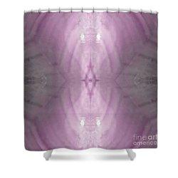 Rosey Light Phantom Shower Curtain