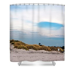 Rosignano Beach Shower Curtain