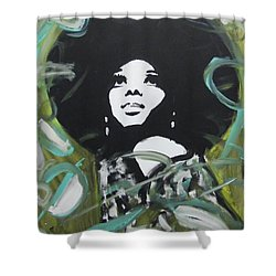 Ross Day Shower Curtain