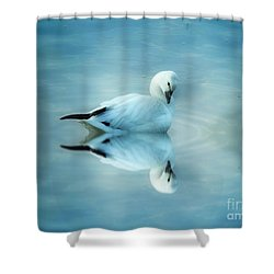 Ross Goose Shower Curtain