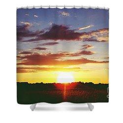 Rossington Sunset 2 Shower Curtain
