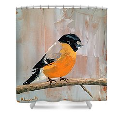 Rosy Cheeks Shower Curtain