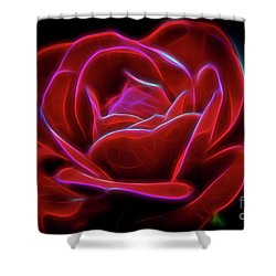 Rosy Dream Shower Curtain