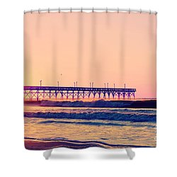 Shower Curtain featuring the photograph Rosy Glow by Kelly Nowak