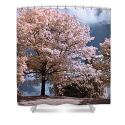 Forever Spring Shower Curtain by Helga Novelli