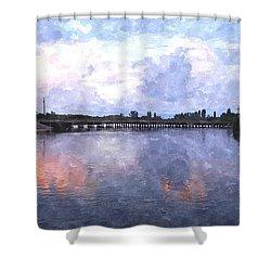 Rotonda River Roriwc Shower Curtain