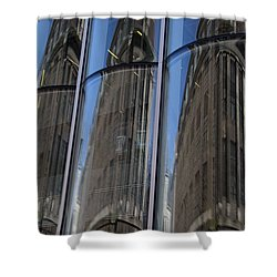 Rotterdam Reflections Shower Curtain