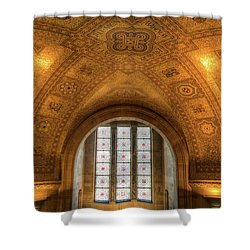 Rotunda Ceiling Royal Ontario Museum Shower Curtain