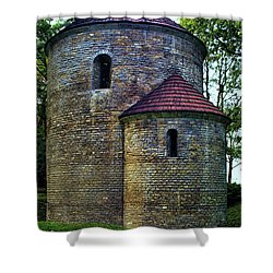 Shower Curtain featuring the photograph Rotunda  by Mariola Bitner