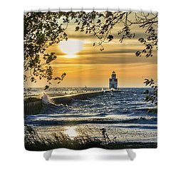 Shower Curtain featuring the photograph Rough Opening by Bill Pevlor