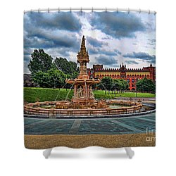 Shower Curtain featuring the photograph Round About by Roberta Byram