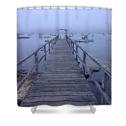 Shower Curtain featuring the photograph Round Pond by Olivier Calas