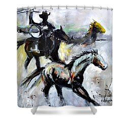 Round Up Shower Curtain