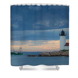 Rounding The Bend Shower Curtain
