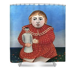 Rousseau: Child/doll, C1906 Shower Curtain by Granger