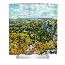 Roussenski Lom Nature Park Shower Curtain