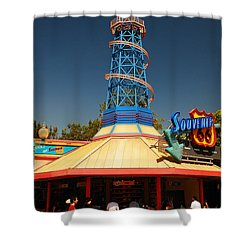 Route 66 Souveniers Shower Curtain by James Kirkikis