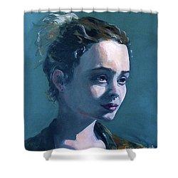Rowan Shower Curtain by Diane Daigle
