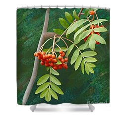 Rowan Tree Shower Curtain
