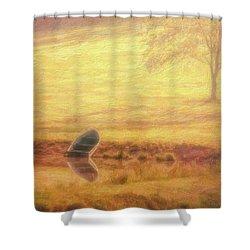 Rowboat Shower Curtain