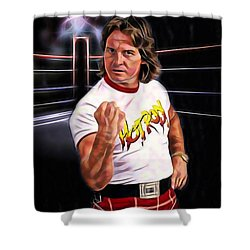 Rowdy Roddy Piper Wrestling Collection Shower Curtain
