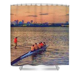 Rowing Club Shower Curtain