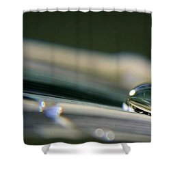Rowling Droplets   Shower Curtain