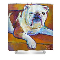 Roxi Shower Curtain by Robert Phelps