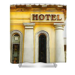 Royal Albion Hotel Brighton Shower Curtain