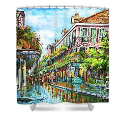 Royal At Pere Antoine Alley, New Orleans French Quarter Shower Curtain