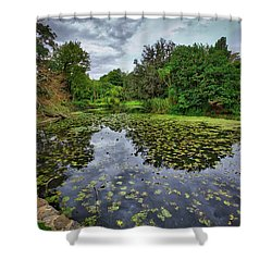 Royal Botanical Gardens, Melbourne Shower Curtain