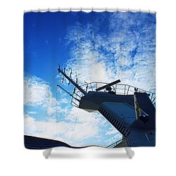 Royal Caribbean Cruise Shower Curtain by Infinite Pixels