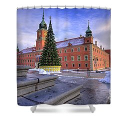 Shower Curtain featuring the photograph Royal Castle by Juli Scalzi