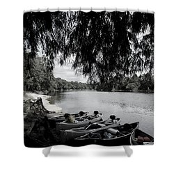 Royal Fleet Shower Curtain