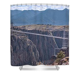 Royal Gorge Bridge Colorado Shower Curtain by James BO Insogna