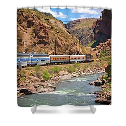 Royal Gorge River View Shower Curtain