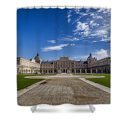 Royal Palace Of Aranjuez Shower Curtain