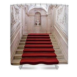 Royal Palace Staircase Shower Curtain by Jose Elias - Sofia Pereira