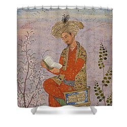 Royal Reader Shower Curtain