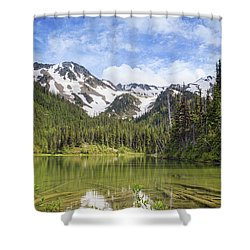 Royal Sunset Shower Curtain