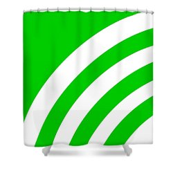 Rss Pattern - Pick Your Color Shower Curtain
