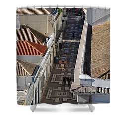 Rua Do Crime In Faro Shower Curtain