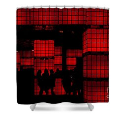 Rubik's Dream Shower Curtain by Andrew Paranavitana